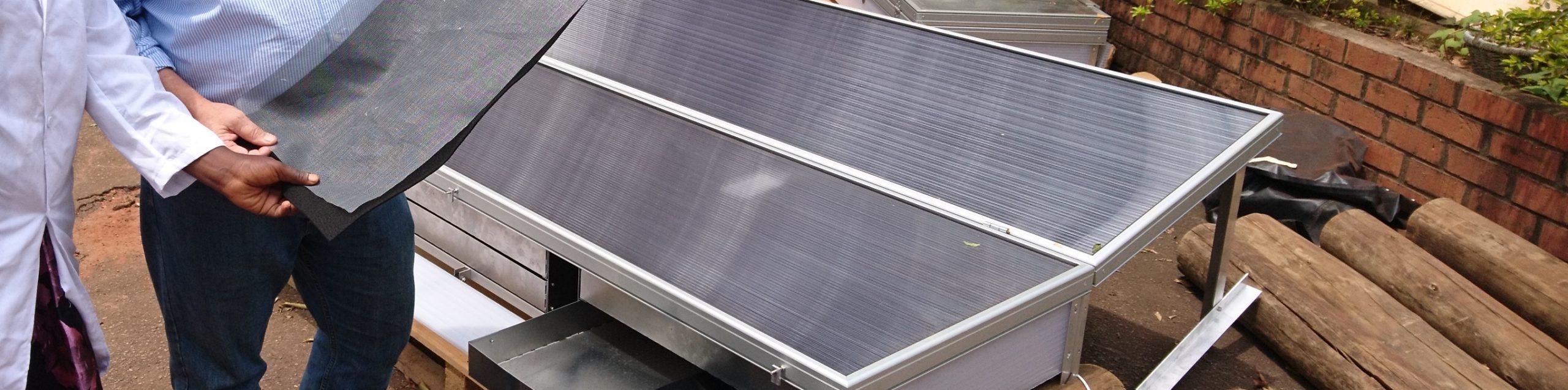solarventi soltørringsanlæg