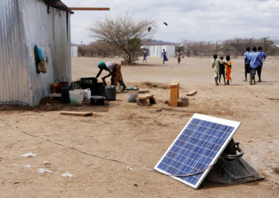 Solarpower for refugee camps